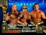 Goldberg First handicap Match Between WWE test & Scott Steiner | Wwe History