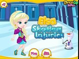 Elsa Skating Injuries - Frozen Elsa Ice Skating - Frozen Games
