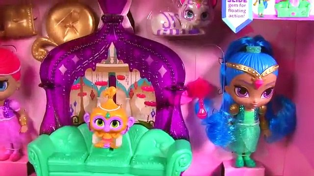 Shimmer and Shine Float and Sing Palace Friends Playset! Blind Bag Sofia, Doc McStuffins,
