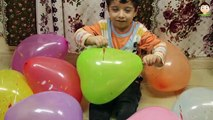 Balloons For Kids Balloons Finger Family Pop Balloons Learn Colors Fun The Balloons Popping Show