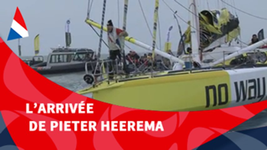 J116 : L'arrivée de Pieter Heerema / Vendée Globe