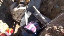 Toprak Altında Kalan Suriyeli İşçi Kurtarıldı