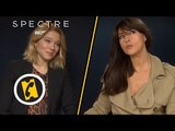 James Bond 007 Spectre - l'interview croisé de Léa Seydoux et Monica Belluccci -  (2015)