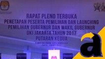 Rapat Pleno Terbuka KPUD DKI Jakarta