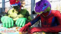 SPIDERMAN v Darth Vader PingPong & Doctor Spiderman & Spider-man BathTime Fun Superhero in