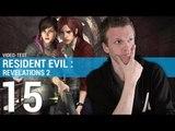 Vidéo test - Resident Evil : Revelations 2 - Entre format épisodique et absence d'originalité