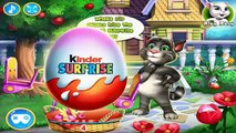 Talking Tom 2016 HD Giant Surprise Eggs Funny Animals NEW Compilation Cartoon Games for kids