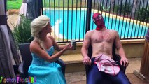 UGLY BABY vs JOKER CAR TOY! w/ Spiderman Frozen Elsa Spidergirl Hulk Crying Baby Superhero
