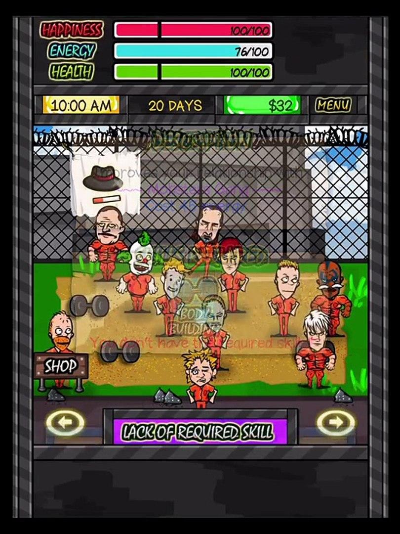Тюремной жизни RPG на Ноб-Студия iOS для iPhone/iPad/сделать ставку Сенсорный геймплей