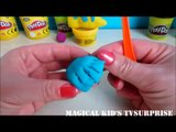 Make Cute Disney Flounder Fish with Play Doh-Pâte à Modeler 3D Modeling Clay Fun Video