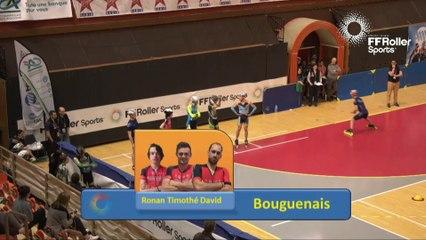 Echauffements part 2 americaines hommes Championnats de France Indoor 2017