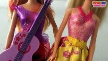 Barbie Girl Doll Rock N Royals & Barbie Girl Dolls Fairytale Fashion | Toys Video For Kids