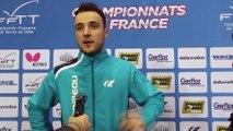 """Simon Gauzy : """"Hyper content d'être en demi-finales"""""""