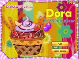 Dora Cooks Blueberry Ice Cream! Cooking Games | Dora Cooks Blueberry Ice Cream