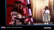 The Voice 6 : Zazie émue aux larmes face à Imane (Vidéo)