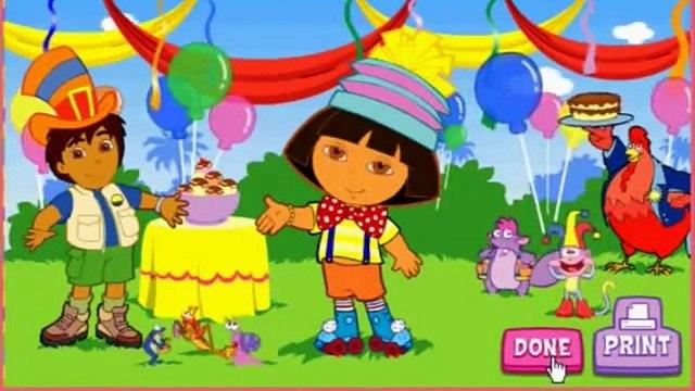 Dora the Explorer Game Movie - Super Silly Costume Maker - Go Diego Go Games