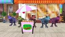 Hulk Vs Elephant, Dinosaurs, Gorilla, Lion Finger Family Songs | Fat Spiderman 3D Animatio