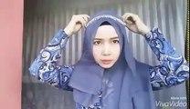 Cara Memakai Jilbab Paris Simple With Headband l Trend Hijab Lebaran  2016