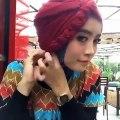 Tutorial Hijab Kerudung Segi Empat Paris Modern Untuk Acara Lebaran