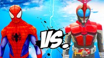 SPIDERMAN VS KAMEN RIDER - EPIC BATTLE