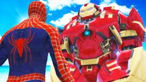 SPIDERMAN VS HULKBUSTER - EPIC SUPERHEROES BATTLE