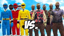 POWER RANGERS VS ZOMBIES - EPIC BATTLE