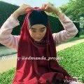 Tutorial Hijab Pashmina Terbaru Spesial  Idul Fitri  l Trend Hijab Lebaran 2016