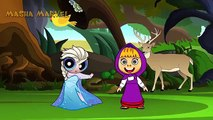 Masha and the Bear Cry Spiderman and Elsa Pranks, paw patrol, PJ Masks Catboy Owlette and