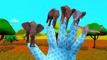 Динозавры Против Кинг-Конга Бой | Цветы Животные Лев, Горилла, Слон Finger Семья Рифмуется
