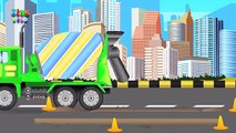 Cement Mixer Truck | Formation and Uses | Kids videos
