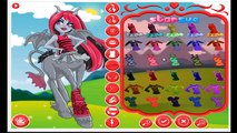 Monster High Fright Mares Review Aery Evenfall,Bay Tidechaser,Pyxis Prepstockings,Frets Qu