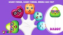 Lollipops Finger Family Songs Nursery Rhymes - The Finger Family Lollipop Family Nursery Rhyme