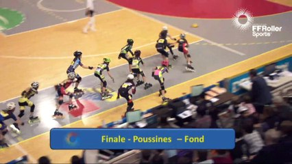 Finale Fond Poussine Championnats de France Indoor 2017