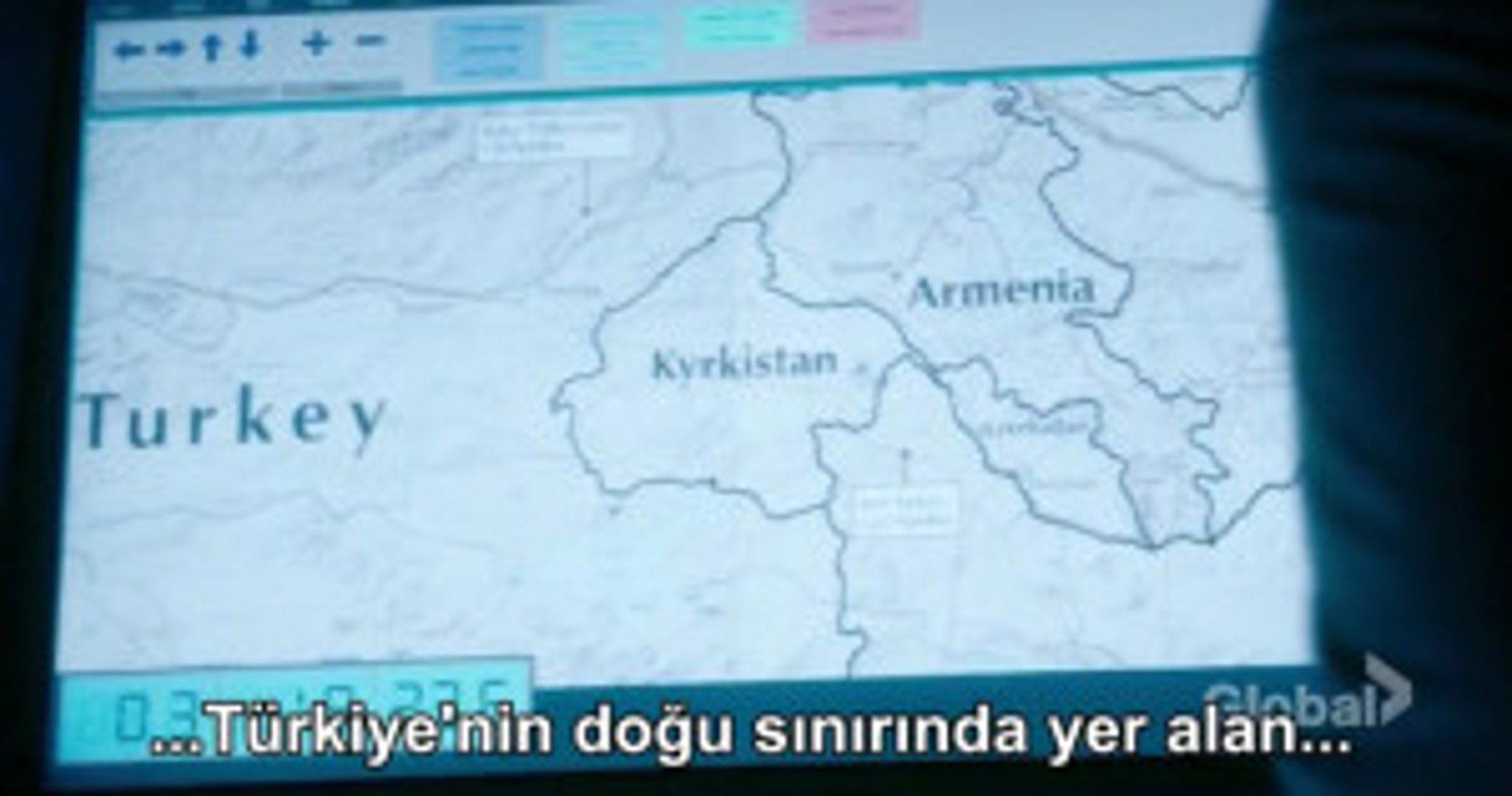 ABD Dizisi Blacklist Türkiye'de Kyrkistan Diye Yeni Bir Devlet Kurdu