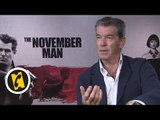 Interview Pierce Brosnan - The November Man - (2014)