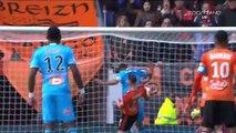 Ligue 1: Buts FC Lorient VS Olympique Marseille (OM) vidéo résumé - 05.03.2017