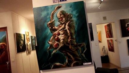 Daily Rebelle N°7 - Robert DI Credico peintre