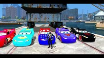 SPIDERMAN and his SPIDER Custom Lightning McQueen Disney Cars + Nursery Rhymes Songs for C