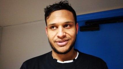 Simon Dia, étoile du match OSQ - Saint-Ouen-l'Aumône