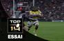 TOP 14 ‐ Essai Jone QOVU (SR) – Toulouse-La Rochelle– J19 – Saison 2016/2017