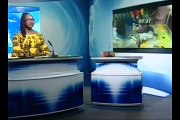 A la découverte de l'application e-civil de Adama Sawadogo par le secrétaire générale de la francophonie Michaëlle JEAN