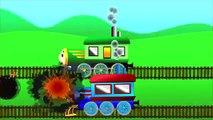 Aprender los colores Thomas Tren Vs Percy Tren de dibujos animados de Video Para Niños y Niños de Tren de Juguetes