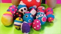 Fun toyz PLAY DOH SURPRISE EGGS!!!! FUN SURPRISE TOYS INSIDE!!