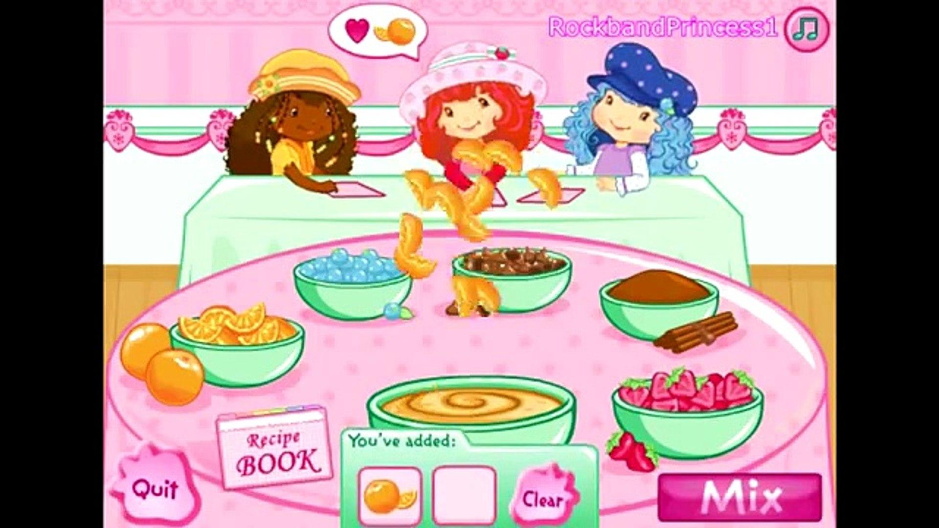 Клубника Короткое Торт Игры Для Девочек Приготовление Игры