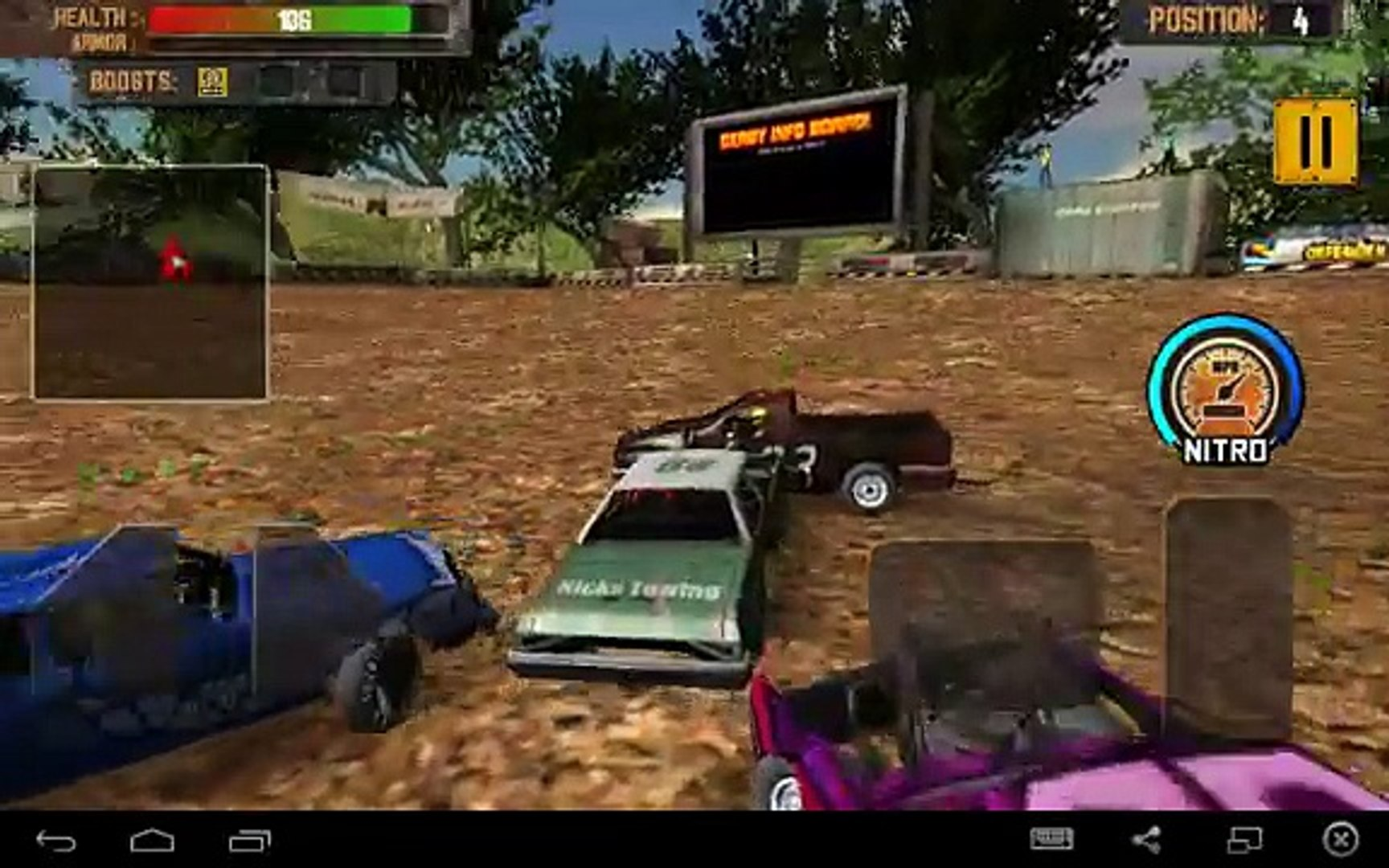 Demolition Derby: Crash Racing for Android GamePlay