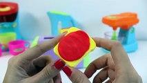 De lujo de la Rebanada y Jugar los Alimentos Play Doh Huevos Fritos de Cocina Set de Cocina de Juguete de Corte de Frutas
