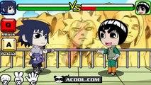Naruto Shippuden Thousand Years Of Death Game Rock Lee VS Uchiha Sasuke
