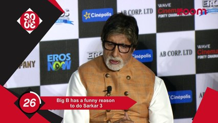 Big B Has A Funny Reason To Do Sarkar 3, Anushka To Feature On Business Magazine Cover