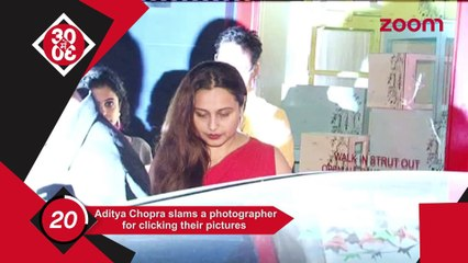 Aditya Chopra Slams A Photgrapher For Clicking Their Pictures, Alia Bhatt Plans A Holiday With Her Best Friend