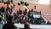 13/14 OGC Nice - AS Saint Etienne Ultras clash with Brigade Sud in the stands
